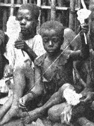 Kinder 1919 in Kamerun